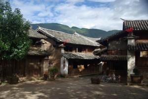 Der Dorfplatz von Shaxi