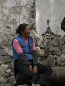 ...freundlichen TibeterInnen...