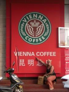 ... und ein echtes Wiener Kaffeehaus !!!! :-)