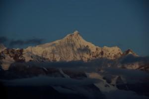 Der wunderschoene Tag beginnt mit dem Sonnenaufgang :-)