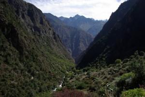 Der Weg fuehrte immer das Tal entlang - Suchbild, wer findet ihn am Foto :-)