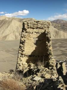 Gigantisch die Aussicht und wie die Mauern auf den Huegel geklebt wurden