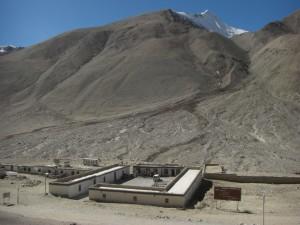 Der Blick auf unsere Unterkunft - das Gasthaus wird vom Kloster betrieben