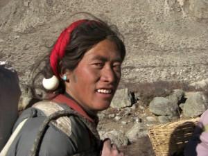 ...einmalig die Waerme und Froehlichkeit die aus den Gesichtern der Tibeter strahlt