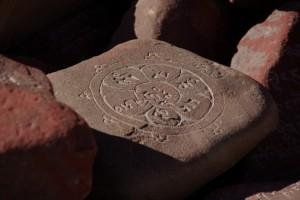 ...die sogenannten Mani-Steine