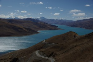 ...Himmel blau, See blau, eisbedeckte Berge - Herz was willst du mehr?