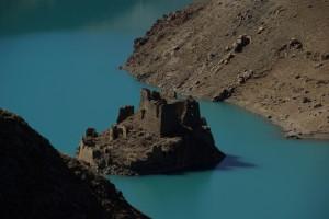 ...einer Insel mit einem verwunschenen Schloss - echt malerisch