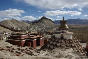 ...und die gesamte Altstadt von Gyantse (inklusive Kumbum, Tempel und Dzong) hat. DAS ist Tibet!