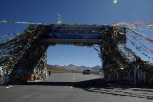 ...und gleichzeitig das Tor zum Chomolungma(Everest) Nationalpark - juhuu das Everestbasislager erwartet uns!