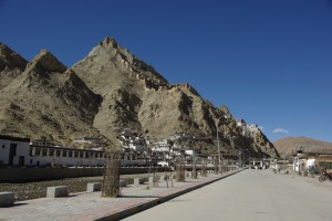 Kloster und Dzong von Shegar