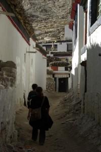 Der Weg zum Kloster fuehrt durch die engen GAssen der Altstadt - hier hat sich in den letzten 40 Jahren wahrscheinlich nicht viel geaendert
