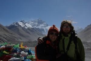 ...ein - Gipfelfoto - muss sein, auch wenn es - nur - am Basislager ist :-)