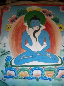 Die tantrischen Darstellungen des Medizinbuddha im Gompa wuerden thematisch in unsere Kirchen nicht passen :-)