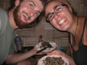Hmmm Reis mit Dal - das nepalesische Essen haben wir von Ram gelernt