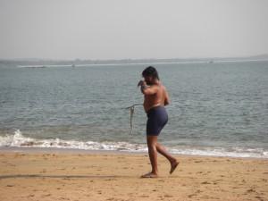 Interessant ist auch die Bademode der Inder... :-)
