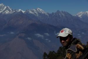 Ram in Aktion - ein super Wanderkamerad und Fuehrer