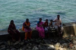...auch die indischen Touristen geniessen die ruhige Insel - auch wenn einige Inder, wenn es ihnen zu ruhig wird, mit maximaler Lautstaerke die Klingeltoene des Handys testen :-)