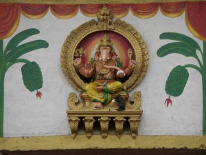 dieser Tempel ist dem Gott Ganesh geweiht