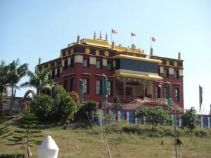 zu guter letzt besuchten wir noch das Sakya Monastery