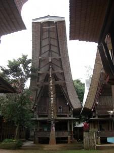 Die meisten dieser Häuser sind Reisspeicher, die den Reisvorrat einer ganzen Familie für 1 Jahr enthalten - 800 - 1000kg