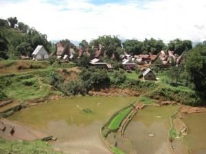 Ein letzter Blick auf unser extrem nettes und gastfreundliches Dorf