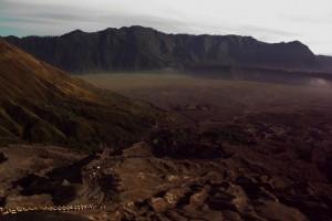 Die Aussicht von oben auf den grossen, erloschenen Krater ist einzigartig