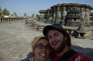 ...und mal wieder ein Foto von uns beiden...uns gefaellts in diesen wunderschoenen Bauwerken